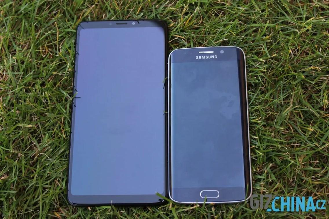 Srovnání se Samsungem Galaxy S6 Edge