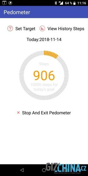 Měření kroků má tendenci kroky přidávat