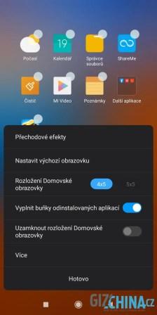 Změna matice ikon je již konečně i v oficiální MIUI