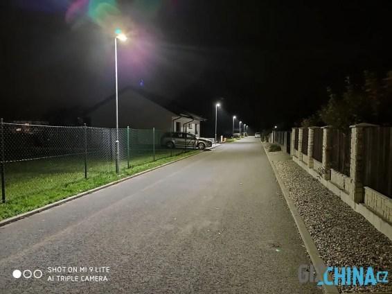 Foceno nočním režimem