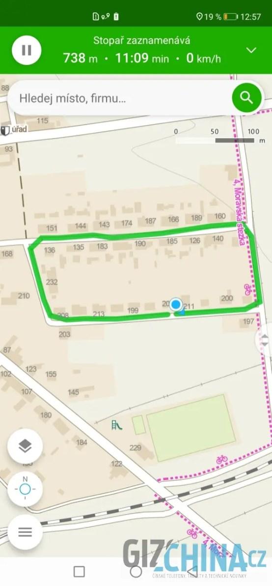 Přesnost GPS je ukázková