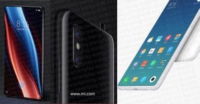 Xiaomi Mi Mix 3-Renders