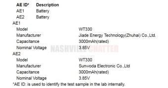 Nokia-TA-1157-Battery
