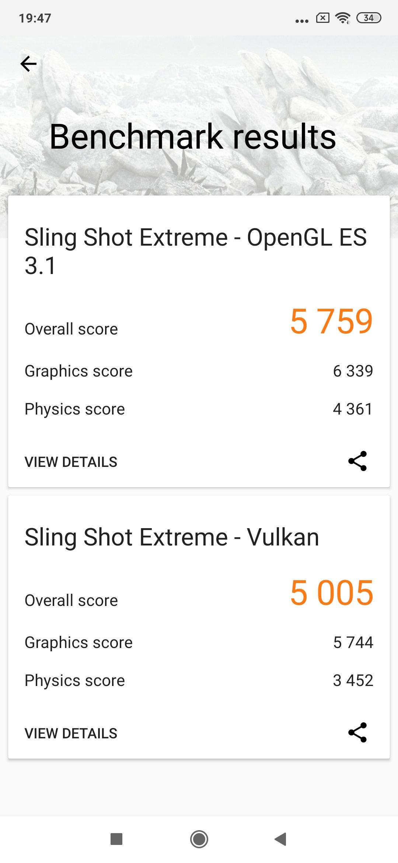 Benchmarks del Xiaomi Mi9T Pro