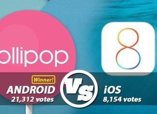 Lollipo vs IOS 8