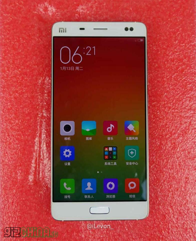 Xiaomi Mi5 Mi4S leaked