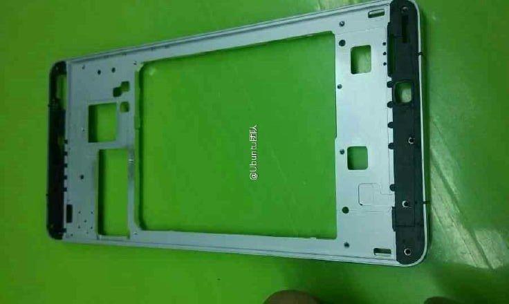 Painel traseiro Xiaomi Mi5 vazou