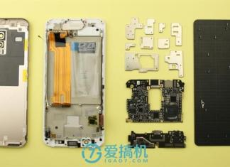 vivo xplay 6 teardown
