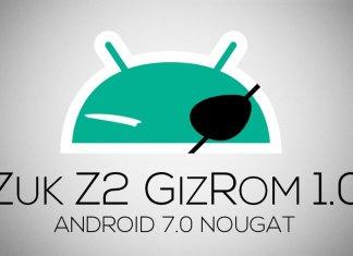 ZUK Z2 GizROM 1.0 Nougat