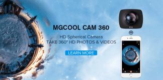 MGCOOL Cam 360 subaquea