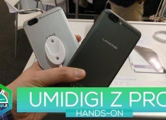 UMIDIGI Z PRO HANDS-ON MWC 2017