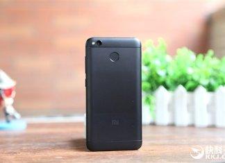 Xiaomi Redmi 4X nero opaco hands-on