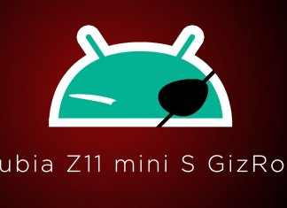 nubia Z11 Mini S GizROM
