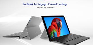 Chuwi Surbook Indiegogo