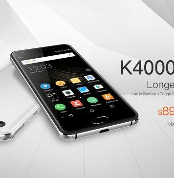 OUKITEL K4000 Plus resistenza schermo