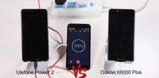 Ulefone Power 2 vs OUKITEL K600 Plus