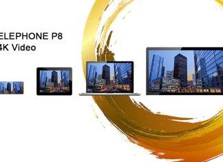 elePhone P8 video 4k