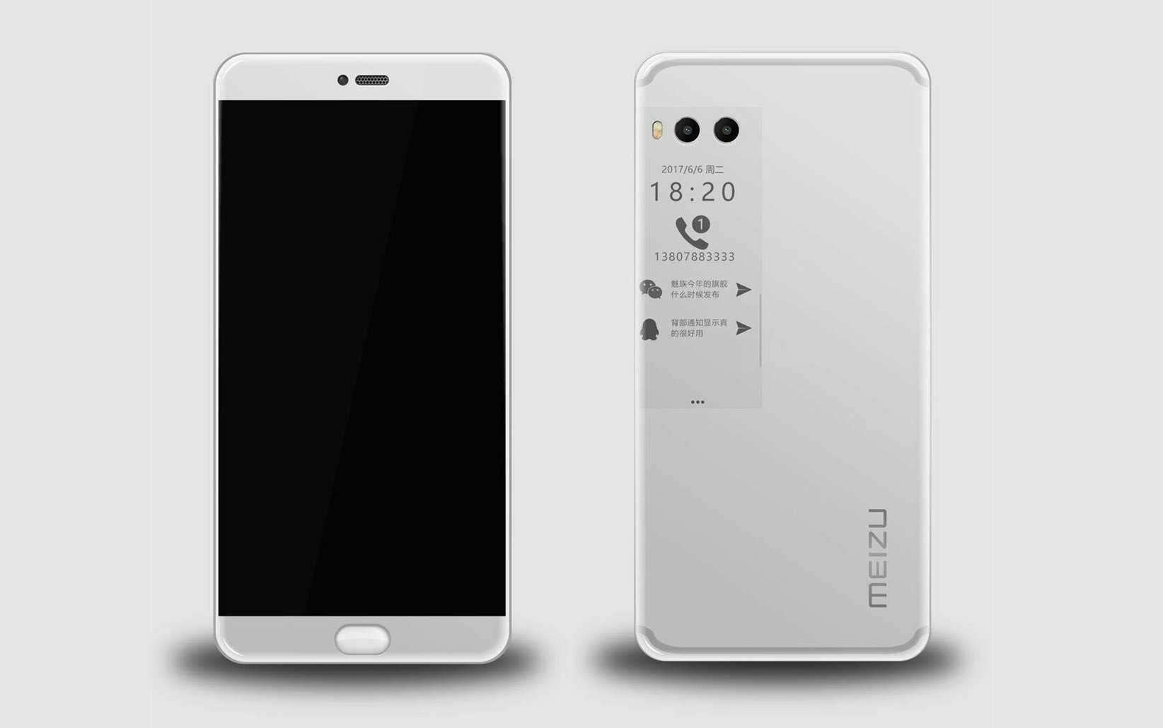 Meizu PRO 7 in funzione: second display per scattare selfie!