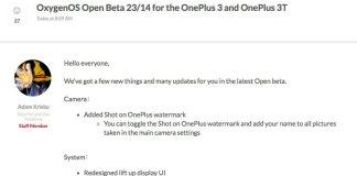 OxygenOS Open Beta 24/13