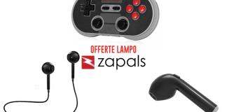 Offerte Lampo Zapals: cuffie bluetooth, joypad wireless e tanto altro!