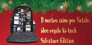 Idee regalo hi-tech zaino Salvatore