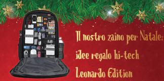 zaino di natale Leonardo