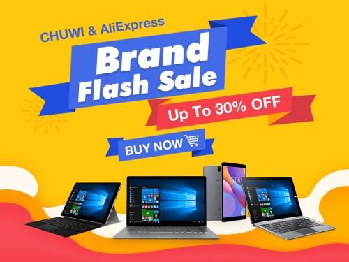 Chuwi AliExpress Brand Sale in Mar. 1200-900