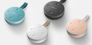 tichome mini smart speaker google assistant