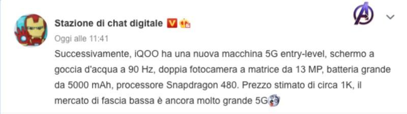 iqoo u5 specifications