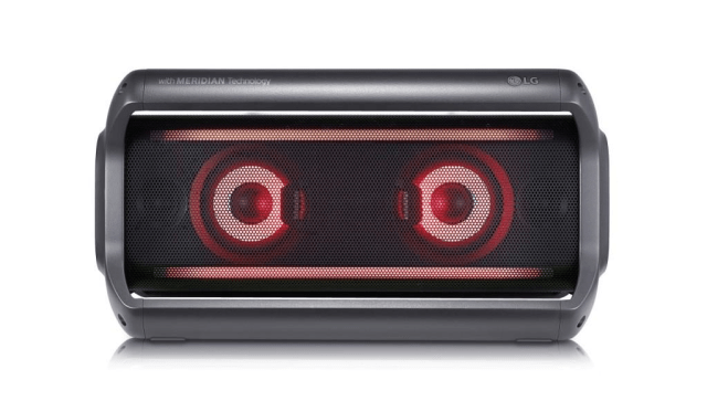 LG New Portable PK Series Bluetooth Speakers Announced