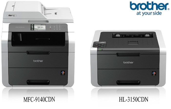 Brother Announces MFC-9140CDN And HL-3150CDN Laser Printers In India [Specs And More]