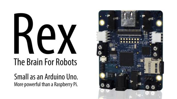 Alphalem's ARM-Powered Rex Is A Robot Controller Board