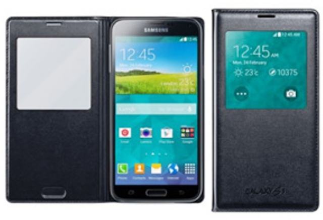 Samsung Galaxy S5 Official Cases Revealed