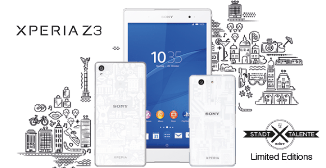 Sony Introduces Xperia Z3 Limited Edition Devices
