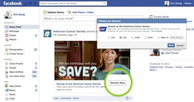 "Facebook Bring You The ""Donate Now"" Button"