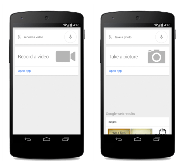 Google Search App Now Takes Photos And Videos Using Voice Commands