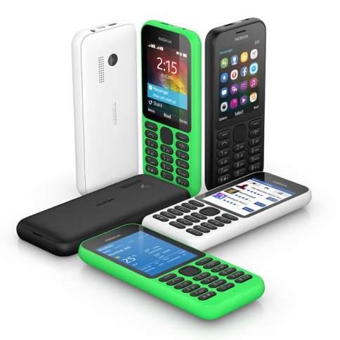 Microsoft Nokia 215 Announced For $29