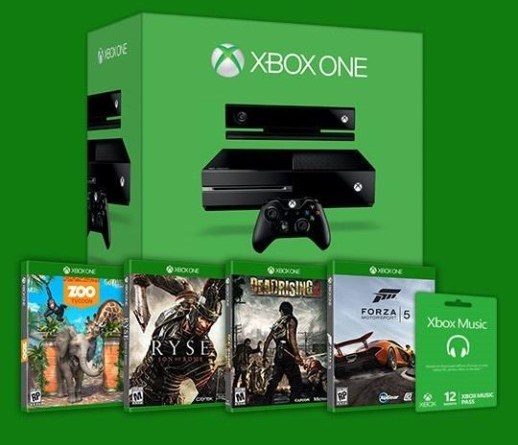 Microsoft Giving Away Xbox One Console And Games To Select Xbox Gamers