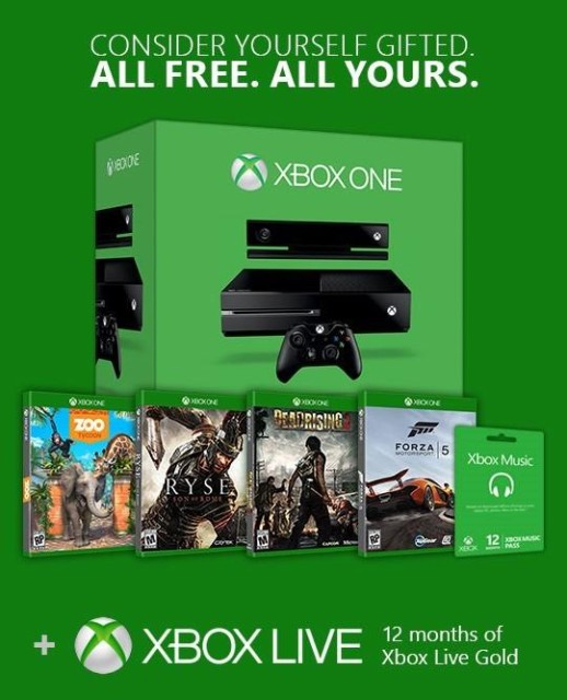 Microsoft Giving Away Xbox One Console And Games To Attract Gamers