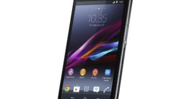 Sony Xperia Z1 Officially Unveiled