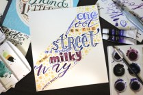 {Brush Art} Words for Maddy
