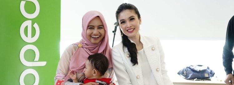 Sandra Dewi Acara Tokopedia Oonew Gizigo