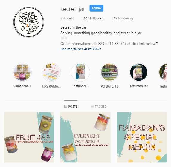 @Secret_Jar Instagram