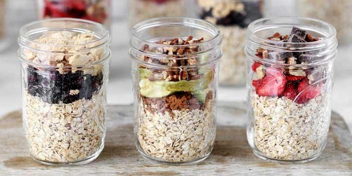 Fruit Jar Oatmeals