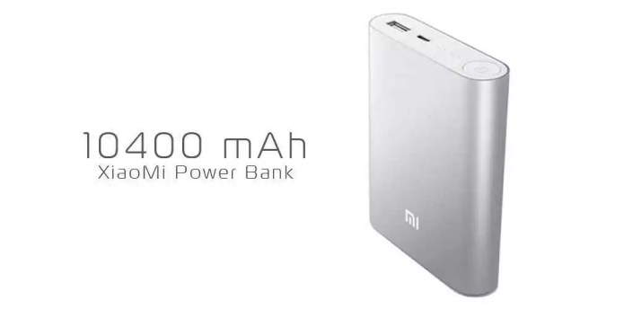 Xiaomi Power Bank 10 400 mAh : notre test