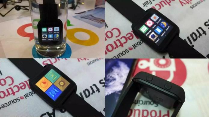 SmartQ Z1 : une incroyable montre avec Android Wear