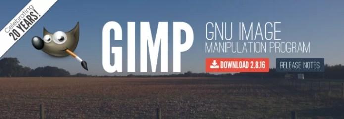 Gimp est âgé de 20 ans