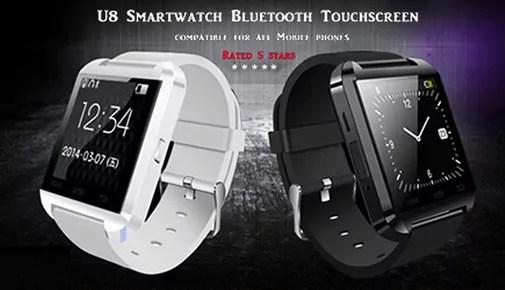 SmartWatch U8 : Une montre intelligente très captivante