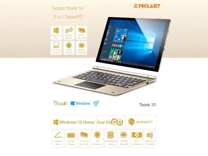 Comparatif des 3 tablettes Teclast