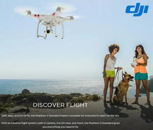 DJI Phantom 3 : L'accès facile au monde du drone